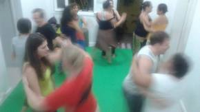 Aula de danças populares com LúcioSanfilippo