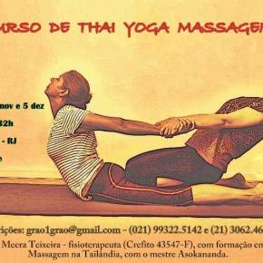 Curso de Thai Yoga Massagem