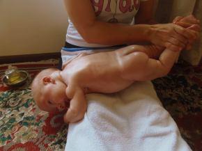 Shantala – Massagem paraBebês